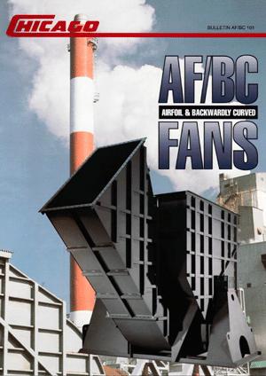 Catálogo de Línea de Ventiladores Airfoil & Backward Inclined de Servicio Pesado